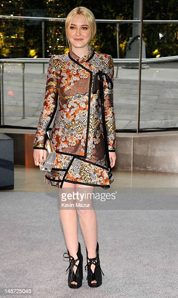 Dakota Fanning attends 2012 CFDA Fashion Awards at Alice Tully Hall on June 4 2012 in New York City