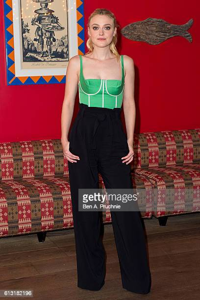 Dakota Fanning attends a photocall for 'American Pastorial' at the Ham Yard Hotel on October 7 2016 in London England
