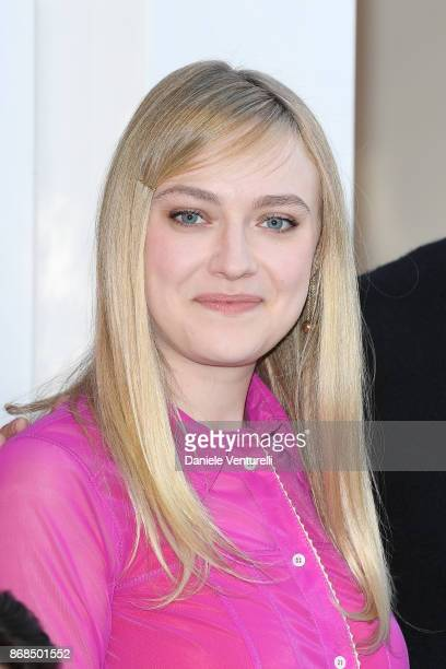 Dakota Fanning attends 'Please Stand By' photocall during the 12th Rome Film Fest at Auditorium Parco Della Musica on October 31 2017 in Rome Italy