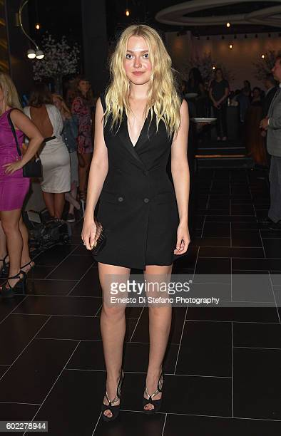 Dakota Fanning attends STK Toronto Hosts The Creative Coalition Spotlight Initiative Gala Awards Dinner at Supper Suite by STK on September 10 2016...