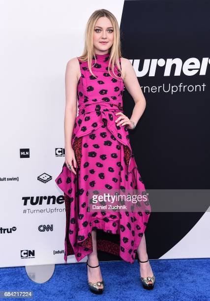 Dakota Fanning attends the 2017 Turner Upfront at Madison Square Garden on May 17 2017 in New York City