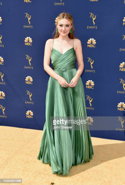 Dakota Fanning attends the 70th Emmy Awards at Microsoft Theater on September 17 2018 in Los Angeles California