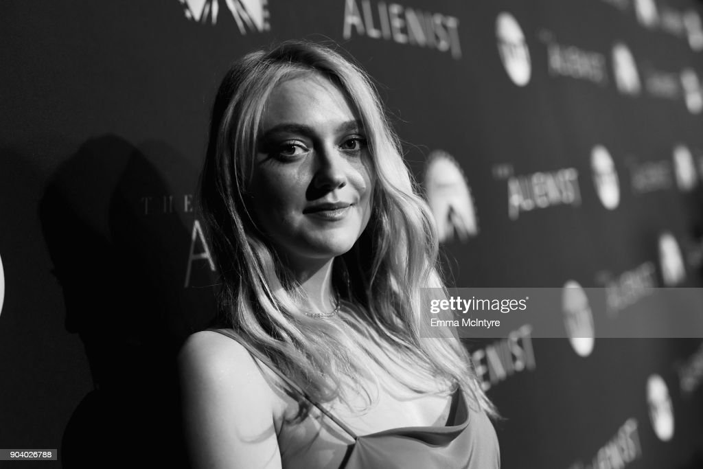 Dakota Fanning attends 'The Alienist' LA Premiere Event at Paramount Studios on January 11, 2018 in Hollywood, California. 26144_017