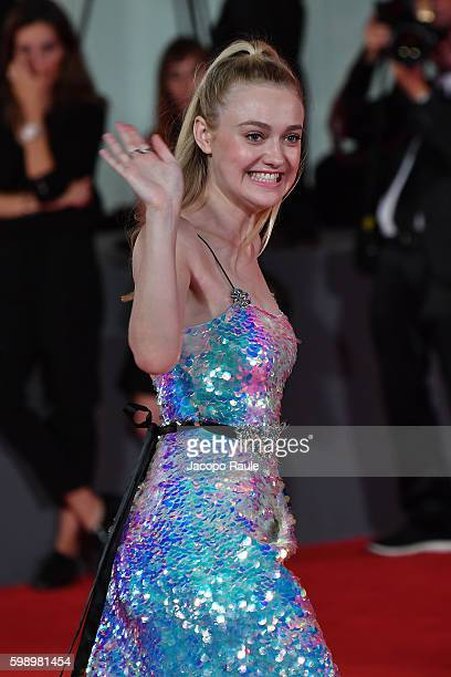 Dakota Fanning attends the premiere of 'Brimstone' during the 73rd Venice Film Festival at on September 3 2016 in Venice Italy