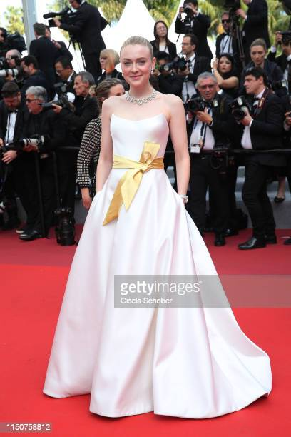 """Dakota Fanning attends the screening of """"Once Upon A Time In Hollywood"""" during the 72nd annual Cannes Film Festival on May 21, 2019 in Cannes, France."""
