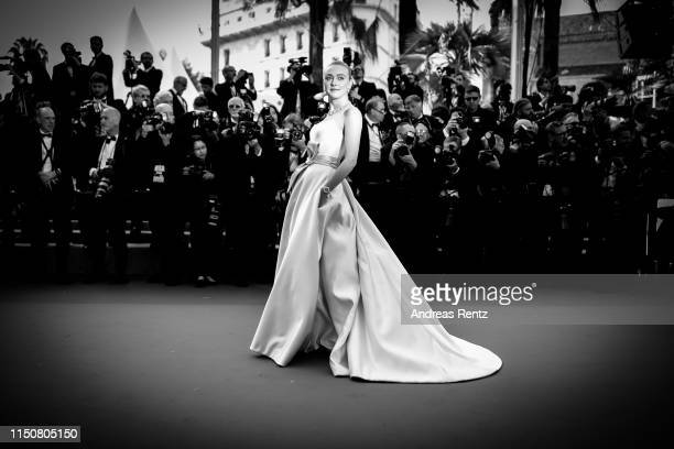Dakota Fanning attends the screening of Once Upon A Time In Hollywood during the 72nd annual Cannes Film Festival on May 21 2019 in Cannes France