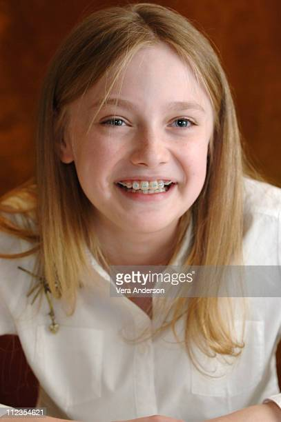 Dakota Fanning during Charlotte's Web Press Conference with Dakota Fanning at The Regency Hotel in New York City New York United States