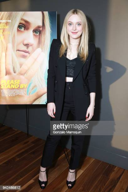 Dakota Fanning during the Please Stand By Screening Annual United Nations Observance of World Autism Awareness Day at The Landmark at 57 West on...