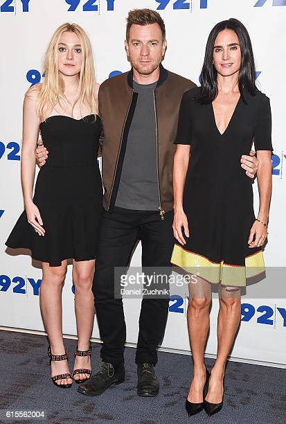 Dakota Fanning Ewan McGregor and Jennifer Connelly attend the 92Y Reel Pieces for the film 'American Pastoral' at 92nd Street Y on October 18 2016 in...