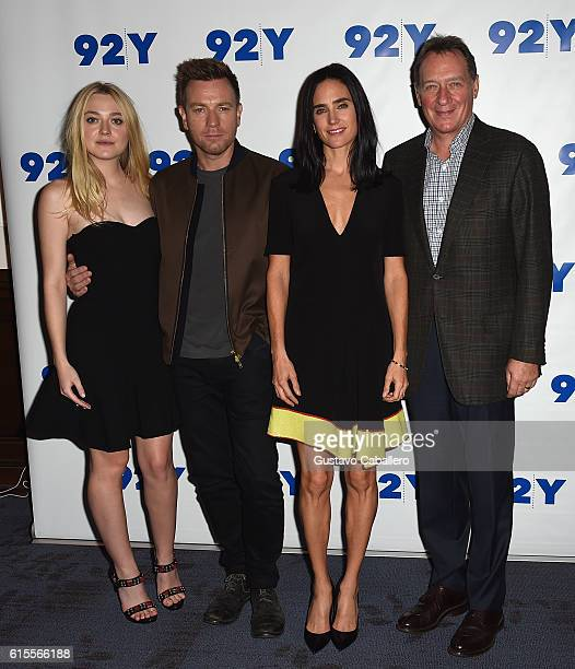 Dakota Fanning Ewan McGregor Jennifer Connelly and producer Gary Lucchesi attend the 92Y Reel Pieces for the film 'American Pastoral' at 92nd Street...