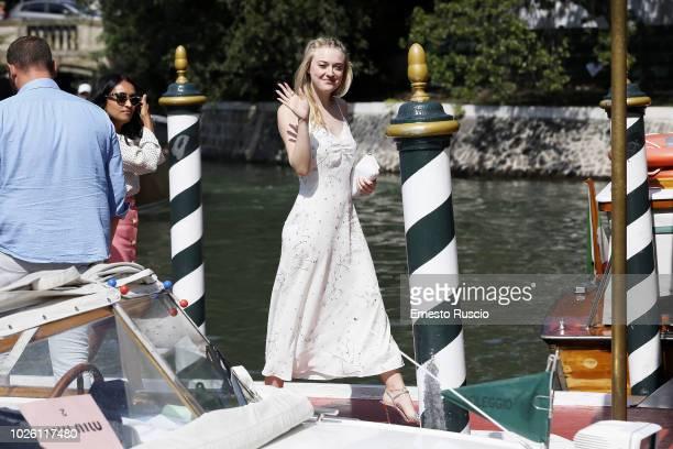Dakota Fanning is seen during the 75th Venice Film Festival on September 2 2018 in Venice Italy
