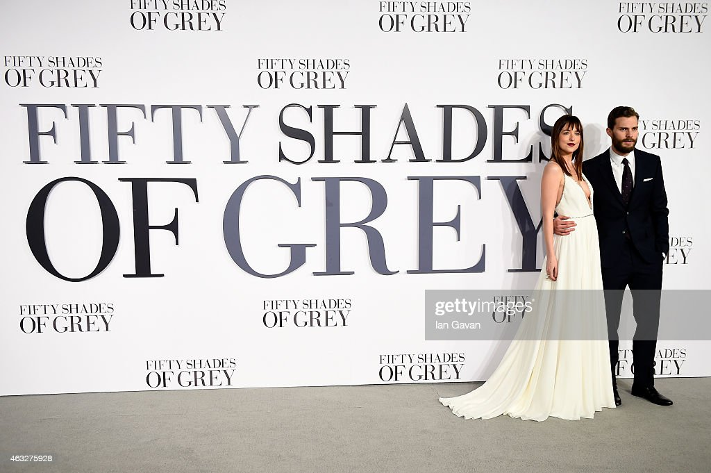 """Fifty Shades Of Grey"" - UK Premiere - Red Carpet Arrivals : News Photo"