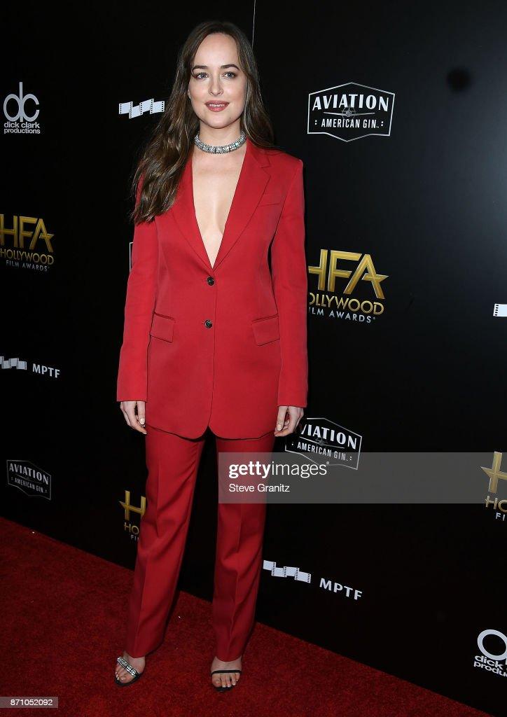 21st Annual Hollywood Film Awards - Press Room : News Photo