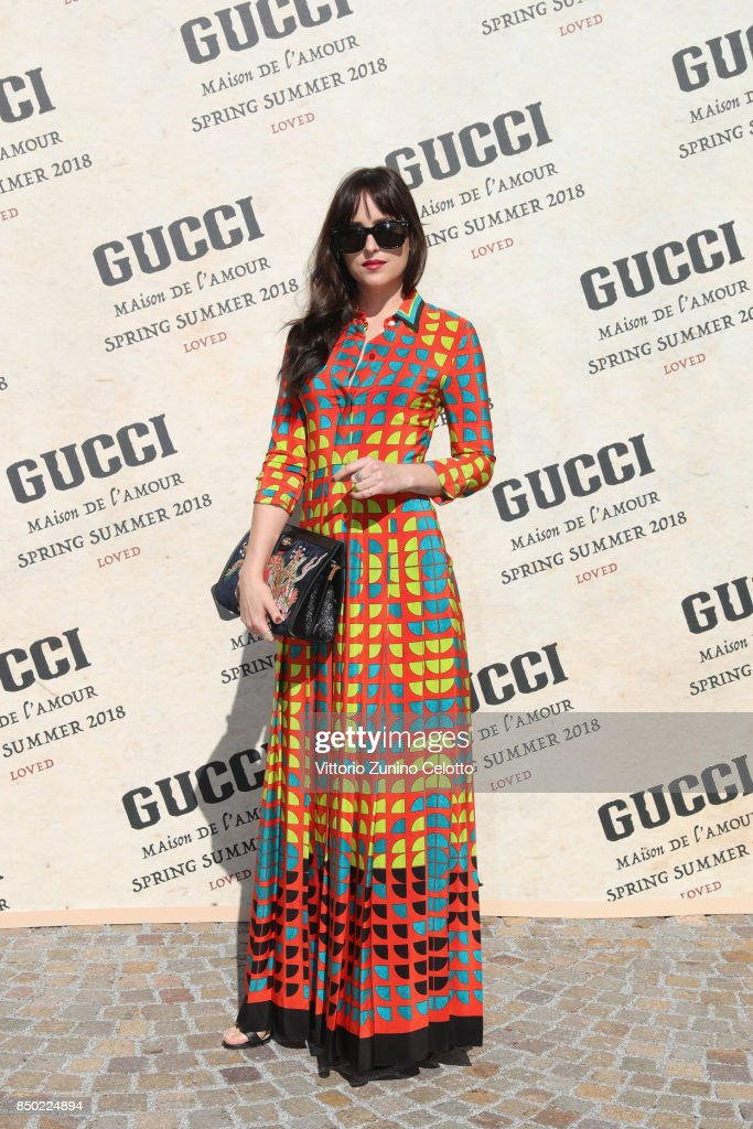 Gucci - Arrivals - Milan Fashion Week Spring/Summer 2018