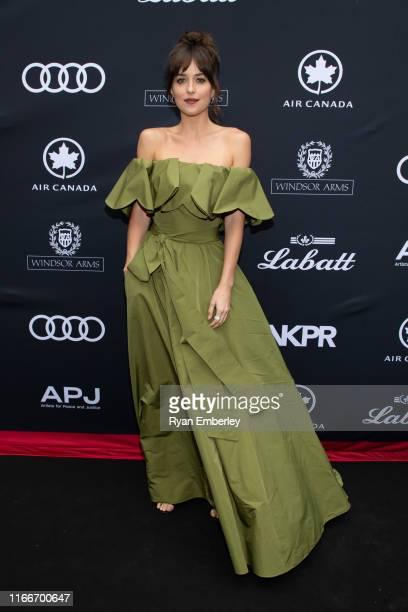 Dakota Johnson at the 11th APJ Festival Gala on September 07, 2019 in Toronto, Canada.