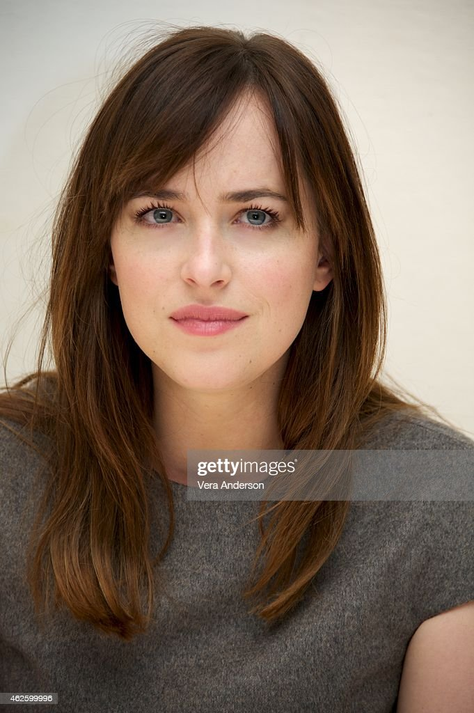 'Fifty Shades Of Grey' Press Conference : News Photo