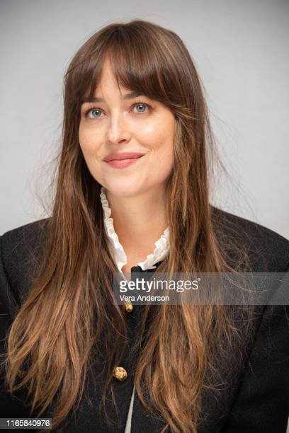 """Dakota Johnson at """"The Peanut Butter Falcon"""" Press Conference at The London Hotel on August 02, 2019 in West Hollywood, California."""