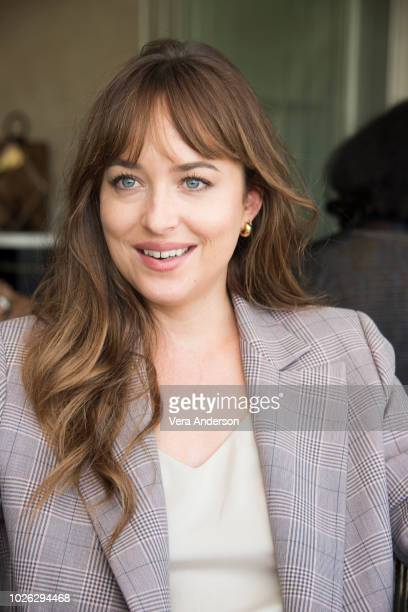 Dakota Johnson at the Suspiria Press Conference at the Excelsior Hotel on September 2 2018 at the Venice Film Festival