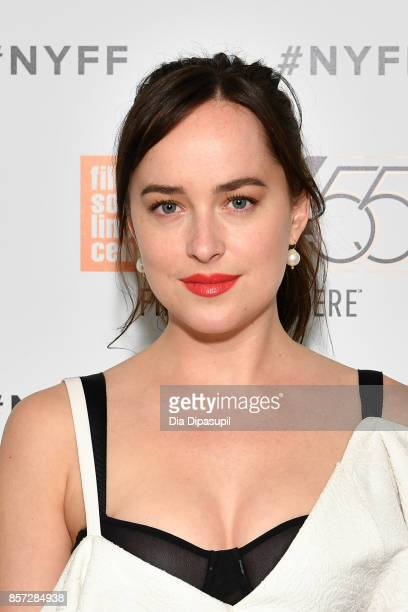 Dakota Johnson attends a screening of 'Call Me by Your Name' during the 55th New York Film Festival at Alice Tully Hall on October 3 2017 in New York...