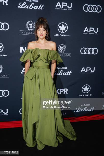 Dakota Johnson attends Audi Canada Cohosts The Artist For Peace And Justice Festival Gala During The Toronto International Film Festival at Windsor...