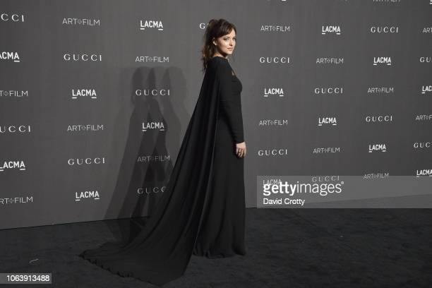 Dakota Johnson attends LACMA Art Film Gala 2018 at Los Angeles County Museum of Art on November 3 2018 in Los Angeles CA