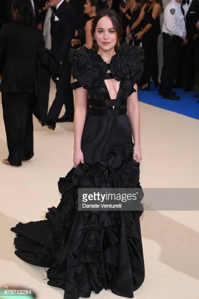 Dakota Johnson attends 'Rei Kawakubo/Comme des Garcons Art Of The InBetween' Costume Institute Gala Arrivals at Metropolitan Museum of Art on May 1...