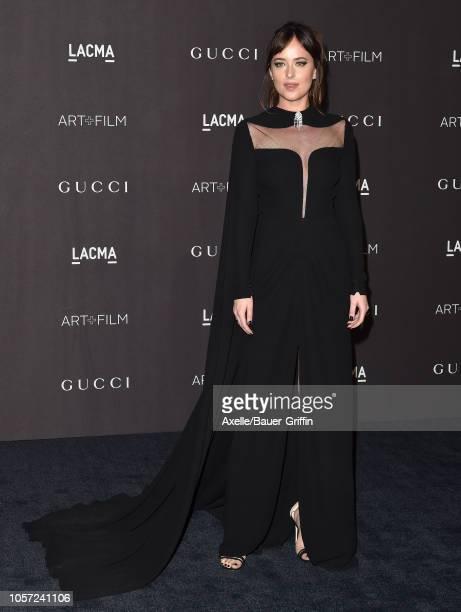 Dakota Johnson attends the 2018 LACMA Art Film Gala at LACMA on November 03 2018 in Los Angeles California