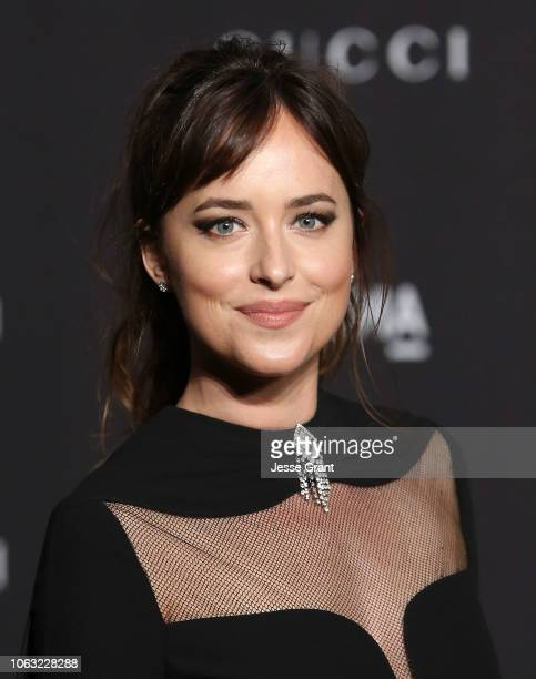 Dakota Johnson attends the 2018 LACMA Art Film Gala at LACMA on November 03 2018 in Los Angeles California