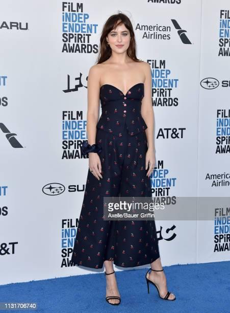 Dakota Johnson attends the 2019 Film Independent Spirit Awards on February 23, 2019 in Santa Monica, California.
