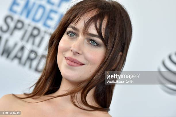 Dakota Johnson attends the 2019 Film Independent Spirit Awards on February 23 2019 in Santa Monica California