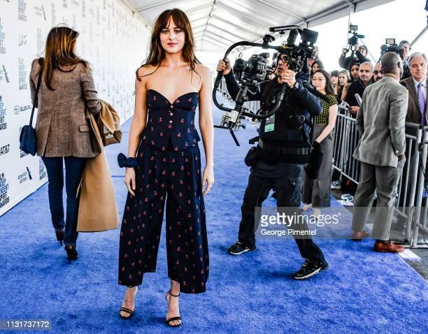 Dakota Johnson attends the 2019 Film Independent Spirit Awards on February 23 2019 in Santa Monica California