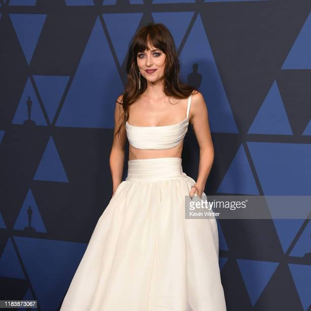 Dakota Johnson attends the Academy Of Motion Picture Arts And Sciences' 11th Annual Governors Awards at The Ray Dolby Ballroom at Hollywood Highland...