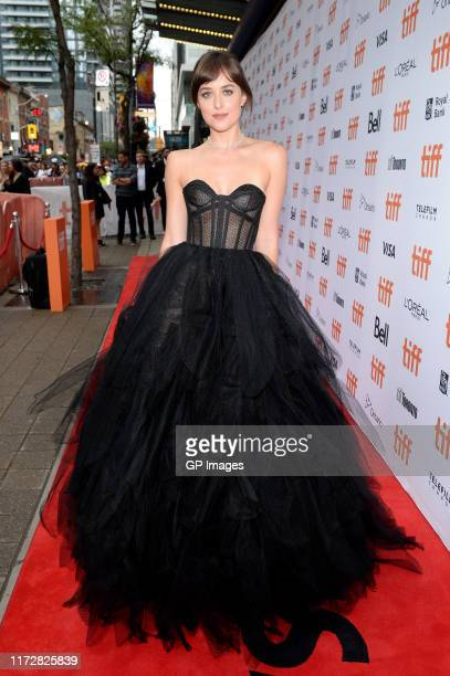 """Dakota Johnson attends """"The Friend"""" premiere during the 2019 Toronto International Film Festival at Princess of Wales Theatre on September 06, 2019..."""
