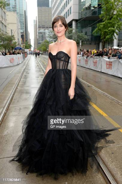 Dakota Johnson attends The Friend premiere during the 2019 Toronto International Film Festival at Princess of Wales Theatre on September 06 2019 in...