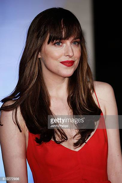 Dakota Johnson attends the official After Party Dinner for the EE British Academy Film Awards at The Grosvenor House Hotel on February 14 2016 in...