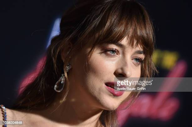 Dakota Johnson attends the premiere of 20th Century FOX's 'Bad Times at the El Royale' at TCL Chinese Theatre on September 22 2018 in Hollywood...