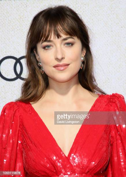 Dakota Johnson attends the premiere of Amazon Studios Suspiria at ArcLight Cinerama Dome on October 24 2018 in Hollywood California