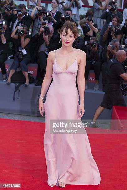 Dakota Johnson attends the premiere of the movie 'BLACK MASS' during the 72nd Venice Film Festival on September 4, 2015 in Venice, Italy.