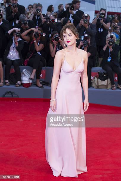 Dakota Johnson attends the premiere of the movie 'BLACK MASS' during the 72nd Venice Film Festival on September 4 2015 in Venice Italy