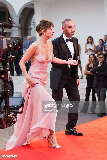 Dakota Johnson attends the preview of the movie 'Black Mass' on Sept 4 2015 during the 72nd Venice Cinema Festival in Venice Italy