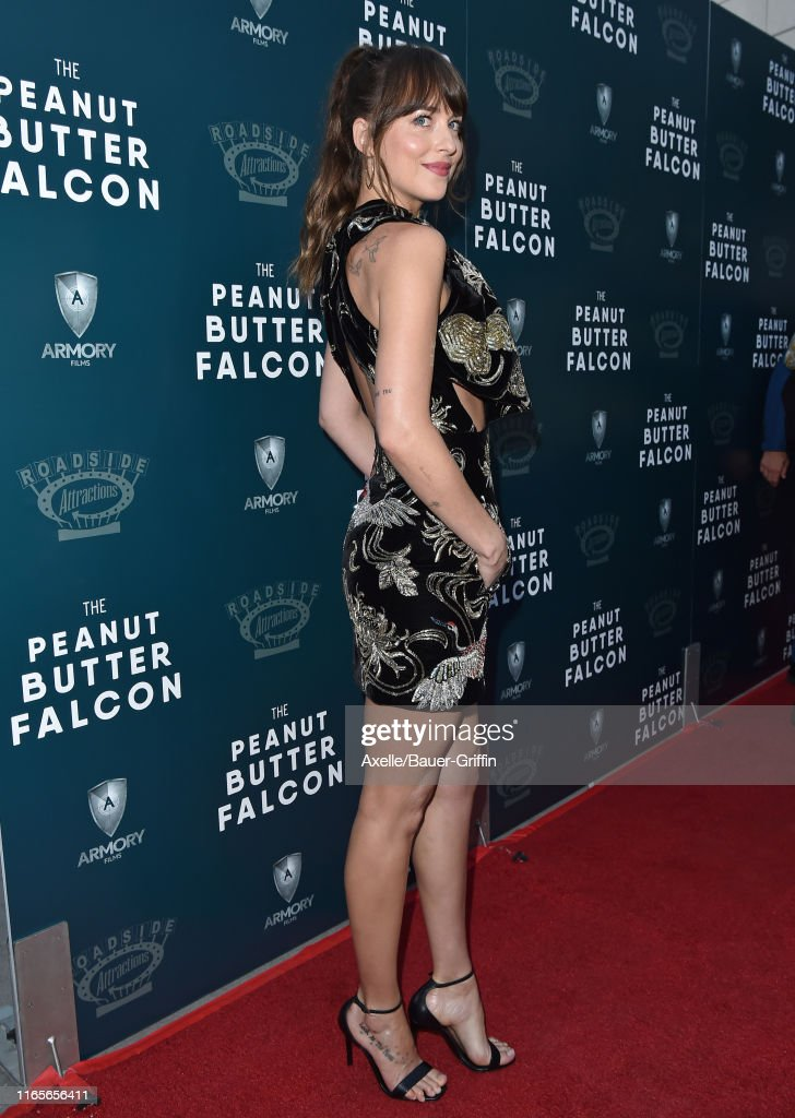 "LA Special Screening Of Roadside Attractions' ""The Peanut Butter Falcon"" - Arrivals : News Photo"