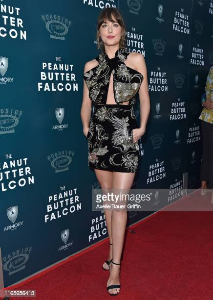 Dakota Johnson attends the LA Special Screening of Roadside Attractions' The Peanut Butter Falcon at ArcLight Hollywood on August 01 2019 in...