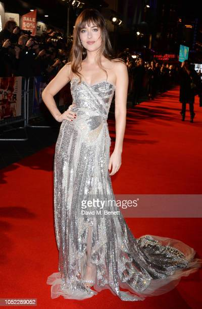Dakota Johnson attends the UK Premiere Headline Gala screening of Suspiria during the 62nd BFI London Film Festival on October 16 2018 in London...