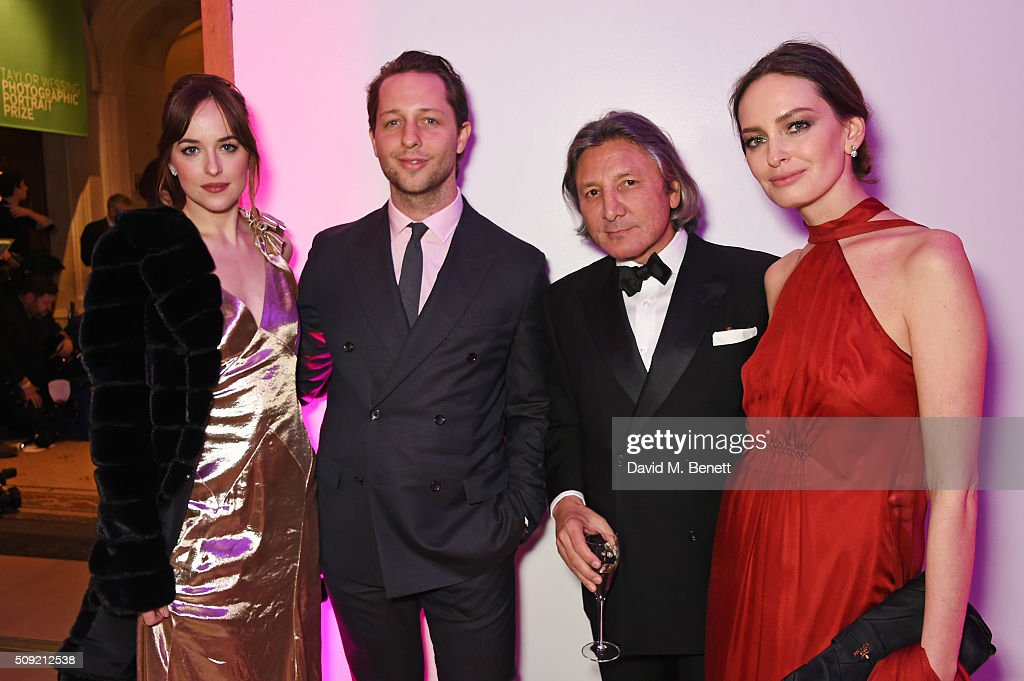 """Alexandra Shulman And Leon Max Host The Opening Of """"Vogue 100: A Century Of Style"""" At The National Portrait Gallery Sponsored By Leon Max : News Photo"""