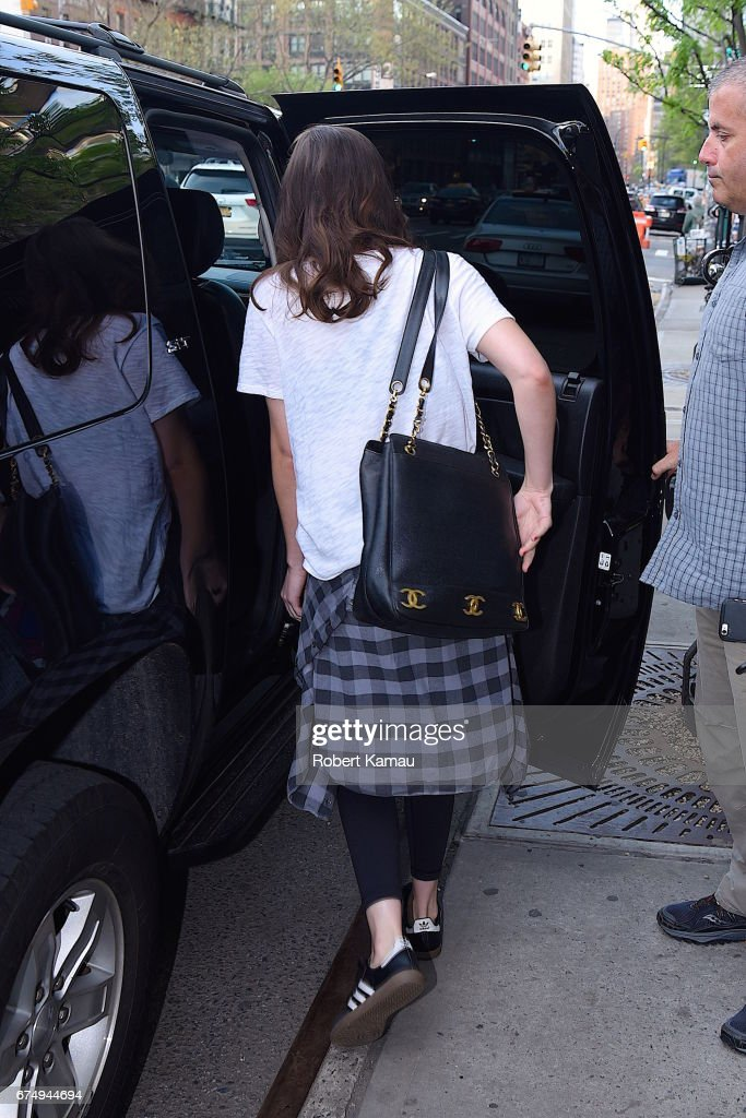 Celebrity Sightings in New York City - April 29, 2016 : News Photo