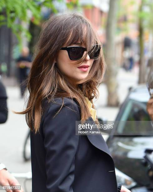 Dakota Johnson seen out in Manhattan on May 3 2017 in New York City
