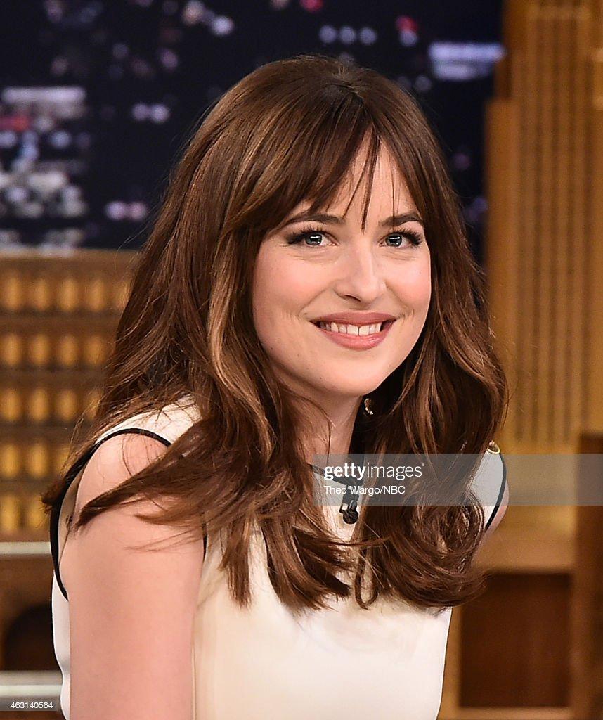 "Dakota Johnson Visits ""The Tonight Show Starring Jimmy Fallon"" : News Photo"