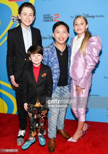 Dakota Lotus Paxton Booth Albert Tsai and Ruby Rose Turner attend the 2019 Radio Disney Music Awards at CBS Studios Radford on June 16 2019 in Studio...
