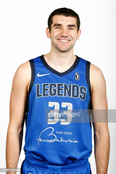 Dakota Mathias of the Texas Legends poses for a headshot during G League Media Day on November 4 2019 at Comerica Center in Frisco Texas NOTE TO USER...
