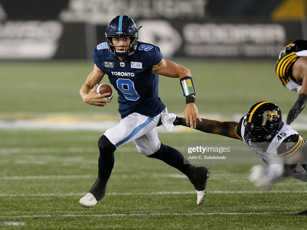CFL: Toronto Argonauts v Hamilton Tiger-Cats - June 6, 2019 : News Photo